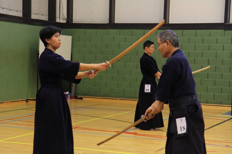High-Level-Seminar mit Satô Nariaki-sensei (8.Dan Hanshi)